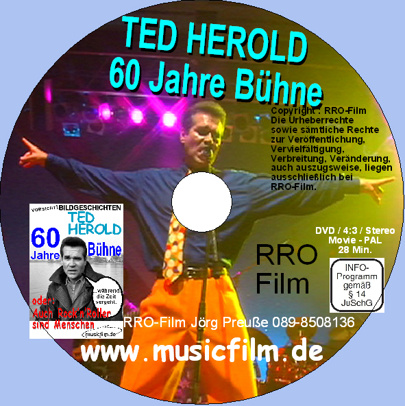 TED HEROLD DVD